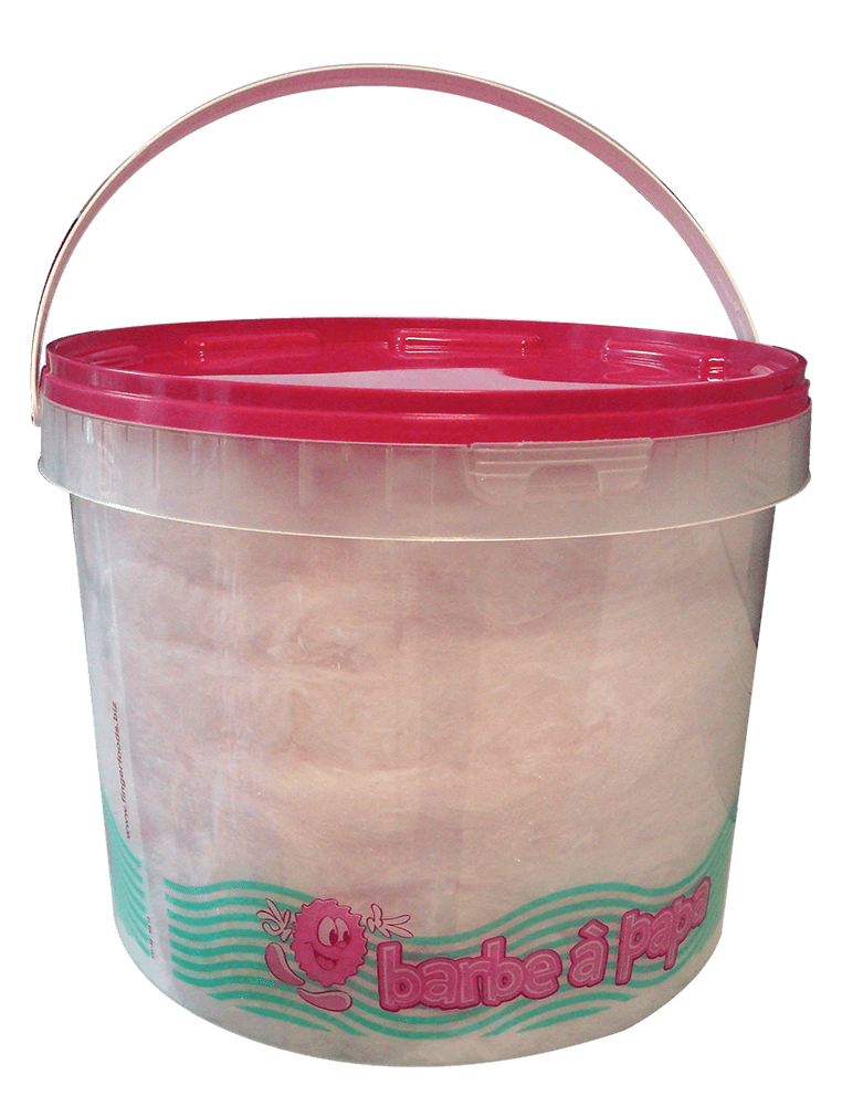 Cotton Candy bucket 250g