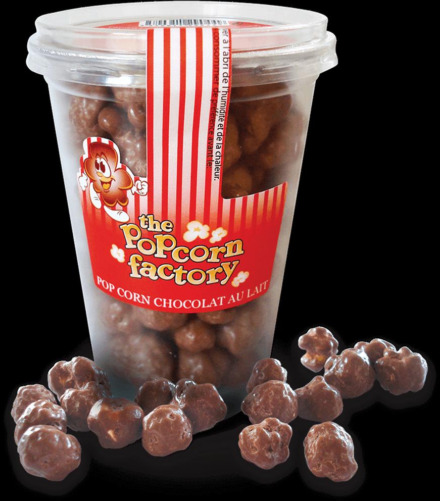 Pop Corn chocolat