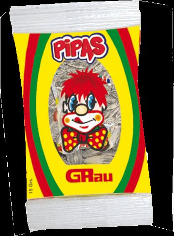 Les «Pipas» : graines de tournesol – sachet de 15g